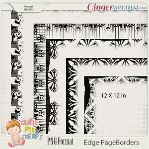 Edge Page Borders 05 By Cutie Pie Scraps