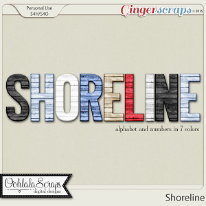 Shoreline Alphabets