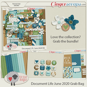 Document Life June 2020 Bundle by Luv Ewe Designs