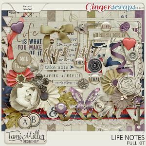 Life Notes Full Kit by Tami Miller Designs