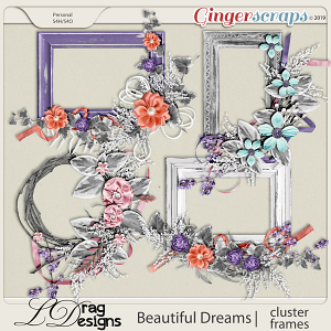 Beautiful Dreams: Cluster Frames by LDragDesigns