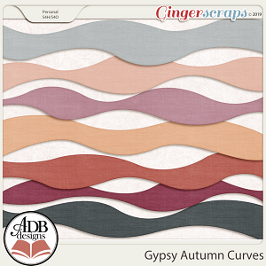 Gypsy Autumn Curves by ADB Designs