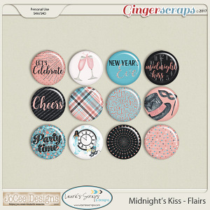 Midnight's Kiss Flair Pack