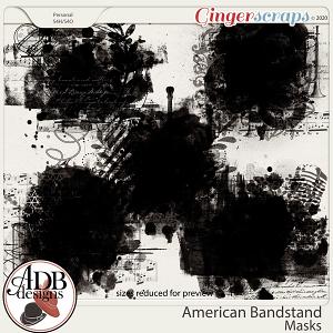 American Bandstand Masks by ADB Designs