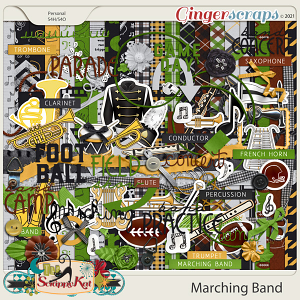 Marching Band by The Scrappy Kat