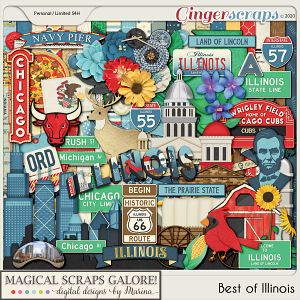 Best of Illinois (page kit)