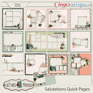 Salutations Quick Pages by Scraps N Pieces