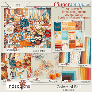 Colors of Fall Collection by Lindsay Jane