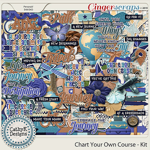 Chart Your Own Course - Kit by CathyK Designs