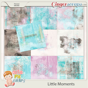Little Moments Painted Papers