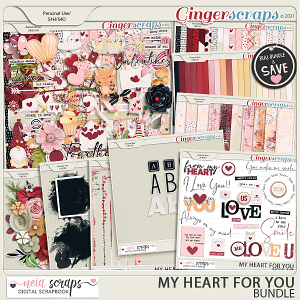 My Heart For You - Bundle - by Neia Scraps