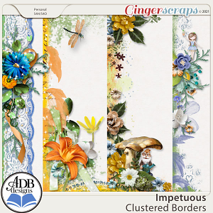 Impetuous Cluster Borders by ADB Designs