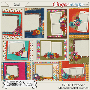 #2016 October - Stacked Pocket Frames