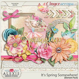 It's Spring Somewhere - Element Pack