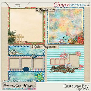 Castaway Bay Page Pack from Designs by Lisa Minor