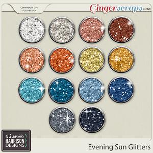 Evening Sun Glitters by Aimee Harrison