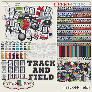 Track and Field Bundle by Scraps N Pieces