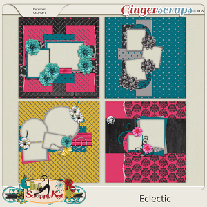 Eclectic Quick Pages by The Scrappy Kat