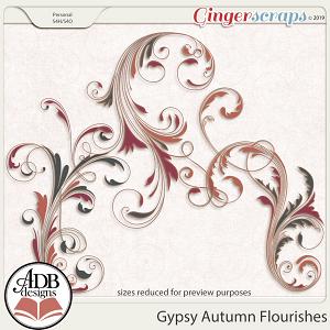 Gypsy Autumn Flourishes by ADB Designs