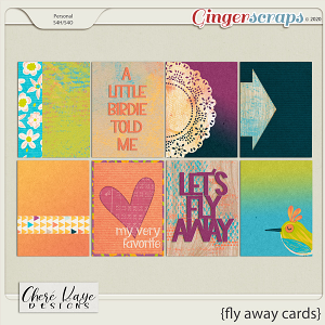 Fly Away Cards by Chere Kaye Designs