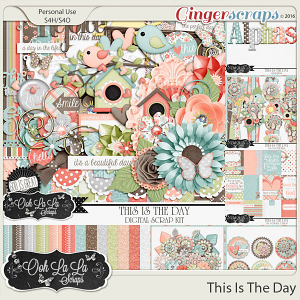 This Is The Day Digital Scrapbooking Bundle