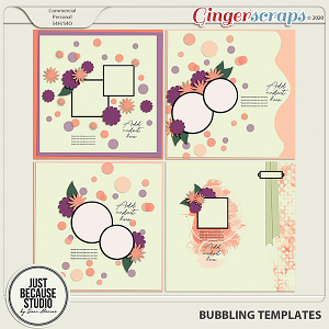 Bubbling Templates 1 by JB Studio