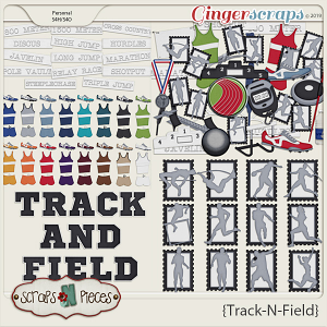 Track and Field Kit by Scraps N Pieces
