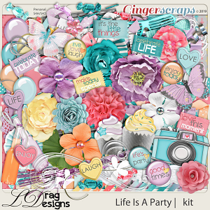 Life Is A Party by LDragDesigns