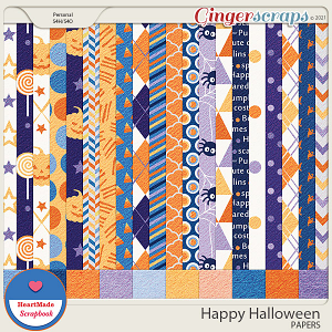Happy Halloween - papers