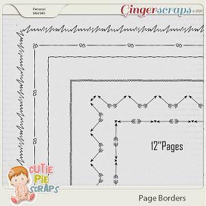 Page Borders 21 By Cutie Pie Scraps