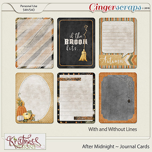 After Midnight Journal Cards