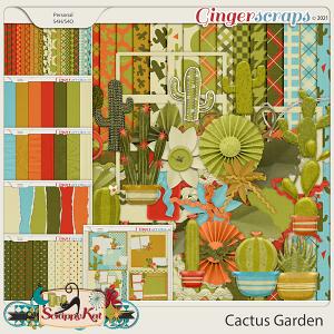 Cactus Garden Bundle by The Scrappy Kat