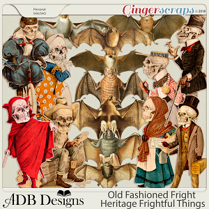 Old Fashioned Fright Heritage Frightful Things by ADB Designs