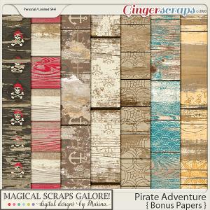 Pirate Adventure (bonus papers)
