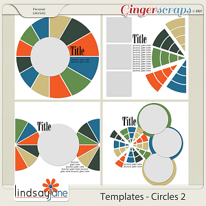 Templates - Circles 2 by Lindsay Jane