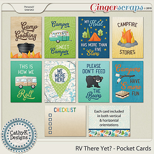 RV There Yet - Pocket Cards by CathyK Designs