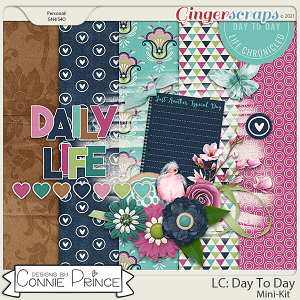 Life Chronicled - Day To Day MiniKit by Connie Prince