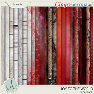 Joy To The World Paper Pack by Ilonka's Designs