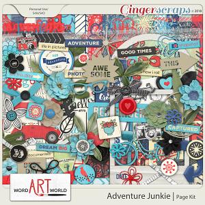 Adventure Junkie Page Kit