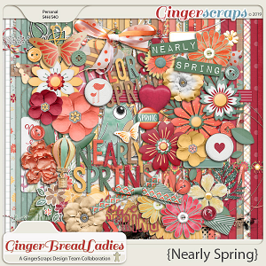 GingerBread Ladies Collab: Nearly Spring