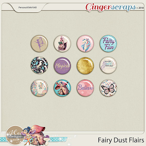 Fairy Dust Flairs by JoCee Designs