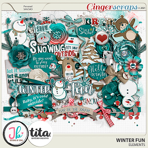 Winter Fun Elements by JB Studio and Tita