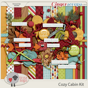 Cozy Cabin Kit by Luv Ewe Designs
