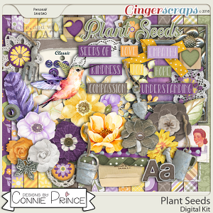 Plant Seeds - Kit by Connie Prince