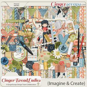 GingerBread Ladies Collab: Imagine & Create