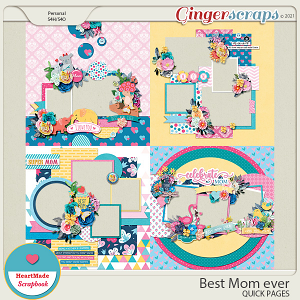 Best Mom ever - quick pages