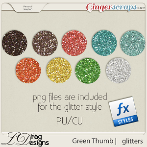Green Thumb: Glitterstyles by LDragDesigns