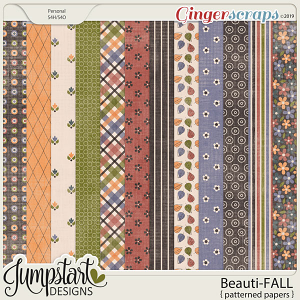 Beauti-FALL {Patterned Papers} by Jumpstart Designs