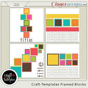 Craft-Templates Framed Blocks