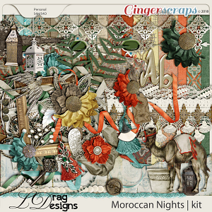 Moroccan Nights by LDragDesigns
